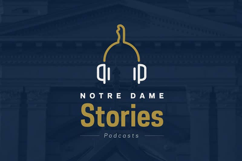 Notre Dame Stories logo.