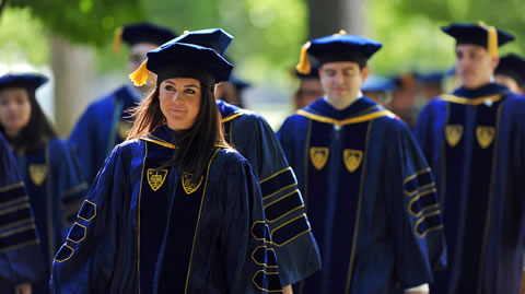 Commencement Traditions | Features | University of Notre Dame